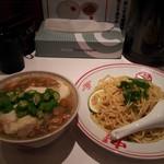 蒙古タンメン中本 - 新宿店さんは「とろろっと塩つけじゃ健!!」