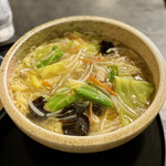 そばと茶処 長寿庵 - 料理写真:野菜あんかけラーメン大盛