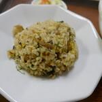 ヒマラヤラーメン - 高菜チャーハン
