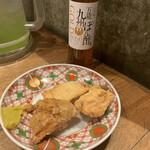 博多担々麺 とり田 - 唐揚げセット