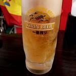 イベリコ豚・ワイン居酒屋 ドンファン - 生ビール:500円