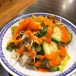 インドレストラン ソフィアマハル - サラダ