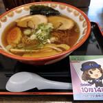 松花 - 料理写真:茶屋ラーメン醬油~☆