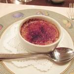 ビストロ・ミカミ - 黒糖ブリュレ