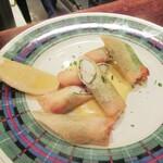 ビストロ・ミカミ - 蟹の春巻 マヨネーズソース