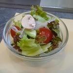 ステーキアオヤマ - ランチのサラダ