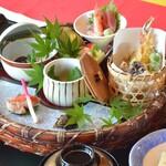 萩姫の湯栄楽館 - 【いろどり膳】※前日迄に要予約