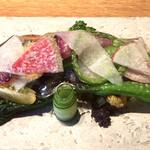 142148599 - 季節のお野菜の一皿