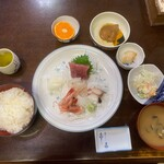 Kogureshokudou - 刺身5点盛定食