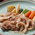 浪漫風 - 王道です!「豚ロース肉の生姜焼き」