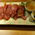 和民 - 「桜肉の刺身」