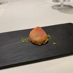 142162072 -                          スフォリアテッレ、フランボワーズ、ピスタチオ、ベネト産チーズ