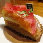 オーガニック ガーデン 茅ヶ崎 - 紅玉のタルト