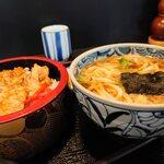 お食事処 一福亭 - 肉重セット(¥1,120)