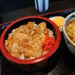 お食事処 一福亭 - 肉重(¥870)