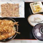 金沢食堂 - アジタタキセット 1,050円