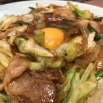 ランチハウス ミトヤ - 肉と野菜のタレ焼き定食(アップ2)