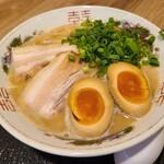天橋立 くじからラーメン - 料理写真:パイタン味玉