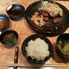 六角堂 - 料理写真:ステーキ定食(お肉食べかけのため少ない)