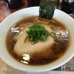 Ramenkagetsuarashi - 飯田商店の醤油ラーメン