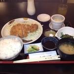 喜久屋 - 上とんかつ定食