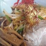 山岡家 - もやし味噌¥880 メンマ¥120