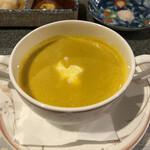 モトハシ - 料理写真:カボチャスープ