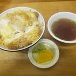 ひろし食堂 - 料理写真:カツ丼2020.12.05