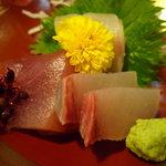 和食 喜久屋 - ☆お造りも…鯛&鮪&鰤☆