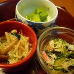 和食 喜久屋 - ☆可愛い小鉢のいろいろ3点盛り☆