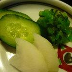 和食 喜久屋 - ☆香の物も充実です☆