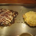 1422411 - ミックス玉&豚いっぱいのチーズマヨ焼。