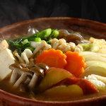 京都大原の味噌鍋専門店 雲井茶屋 - 料理写真:姉妹店「大原温泉湯元 京の民宿 大原の里」が発祥の味噌鍋を一人鍋にて提供しております。