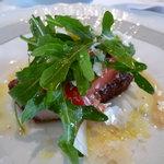 リストランテ ベリーニ - ☆岩手県産白金豚ロース肉のカツレツ…徳谷トマトとルッコラのサラダを添えて☆