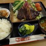 レストラン141 - 味噌かつ定食(1,050円)