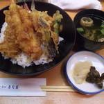 築地寿司岩 三越本石町店 - 絶品!天丼680円!