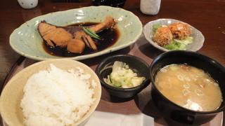銀座 和らん - ぶりの煮付け定食(1000円)