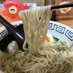 尾鷲しおラーメン モクモクしお学舎 - 麺リフト