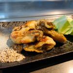 五日市 八昌 - 牡蠣のバター焼き