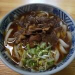 日野出食堂 - 料理写真:元祖馬肉うどん♪