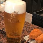串匠 - エビスビール