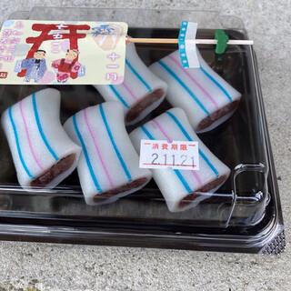 糸切餅 元祖莚寿堂本舗  - 料理写真:糸切餅