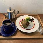 焼菓子工房 ボンボニエール - 料理写真:マフィンのデザートプレートでござる(^_^)v