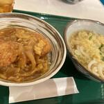 杵屋麦丸 - あんかけカツ丼セット
