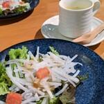 142214558 - サラダ&スープ(パスタランチ)