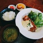 侍屋敷大松沢家 - 料理写真:チキン南蛮定食