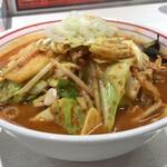 蒙古タンメン中本 - 料理写真:五目味噌(通称ゴモミ)野菜大盛