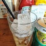 ザグッドベアーバーガー - 生姜感が殆ど無く甘め。グラス2杯分あります。