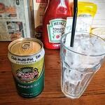 ザグッドベアーバーガー - ジンジャーエール!クラブマルチパック缶とはコストコ専用商品らしい