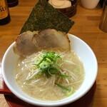 恵比朱 - あっさり塩ラーメン750円
